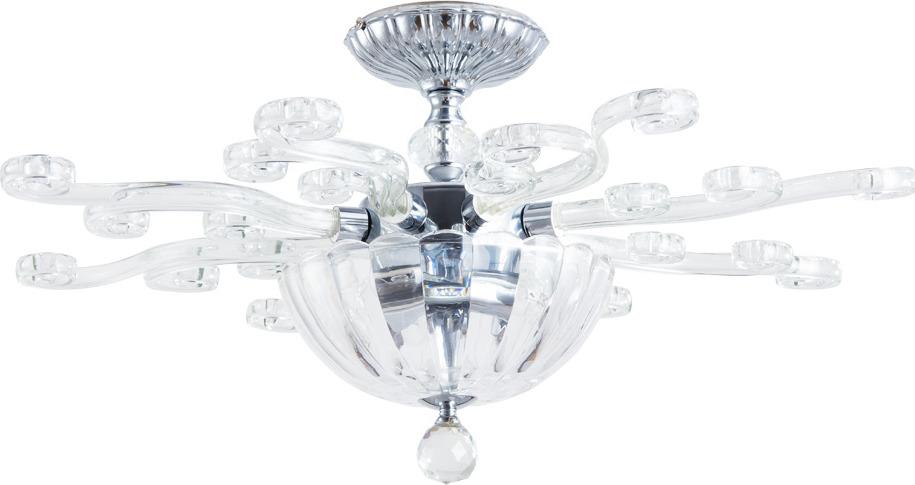 Потолочный светильник Divinare Albedo, 8819/02 PL-3, прозрачный, серый металлик8819/02 PL-3Потолочный светильник итальянской компании Divinare, выполнен в стиле Технический. Типом крепления осветительного прибора является Потолочное. Предусмотрено использование ламп типа Лампа Накаливания, с цоколем E14. Конструкция и степень пылевлагозащищенности прибора позволяют использование в жилых помещениях.