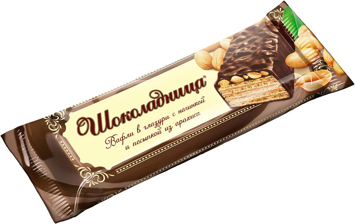 Вафли Коломенское Шоколадница, 30 г булка коломенское булочки сдобные с кардамоном 200 г