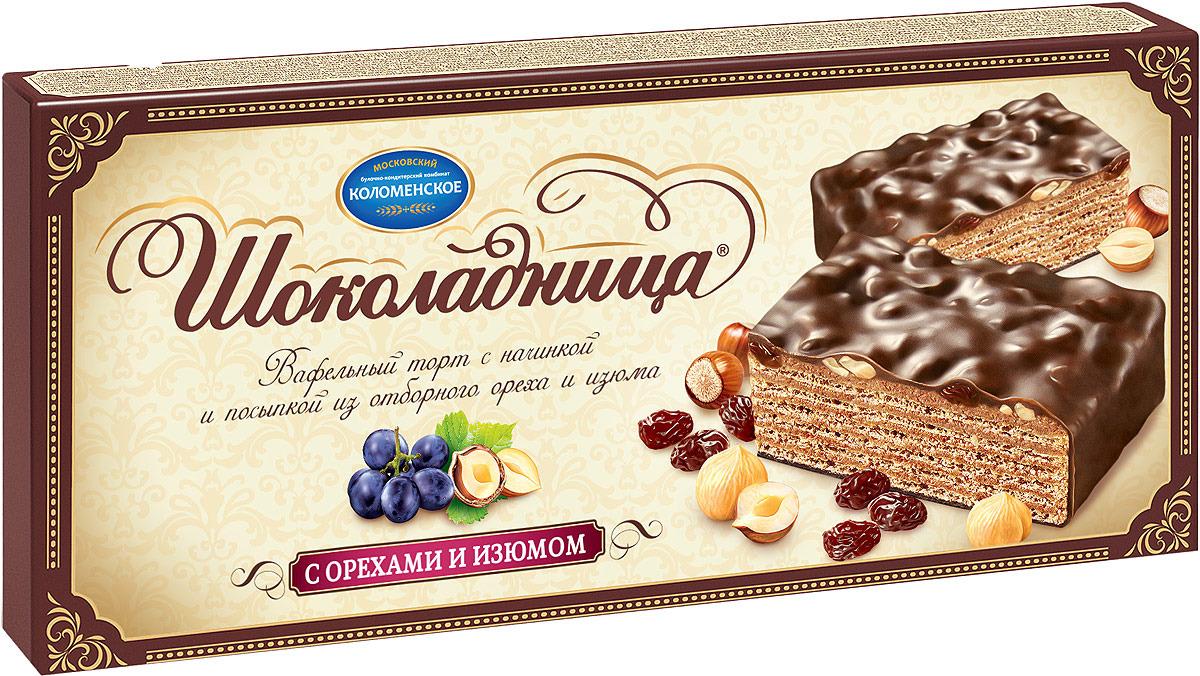"Торт Шоколадница ""С орехами и изюмом"" 270 г, 270 г"