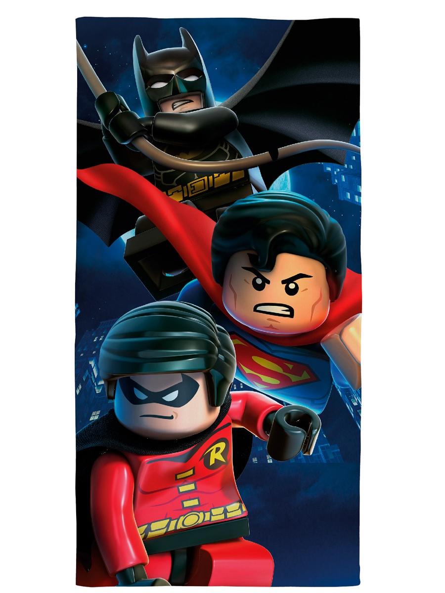 Полотенце детское Lego DC Heroes Legend, Хлопок