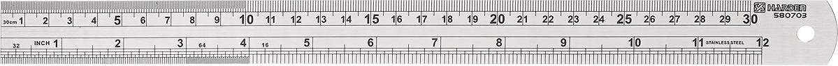 Линейка измерительная Harden, 580703, 30 см