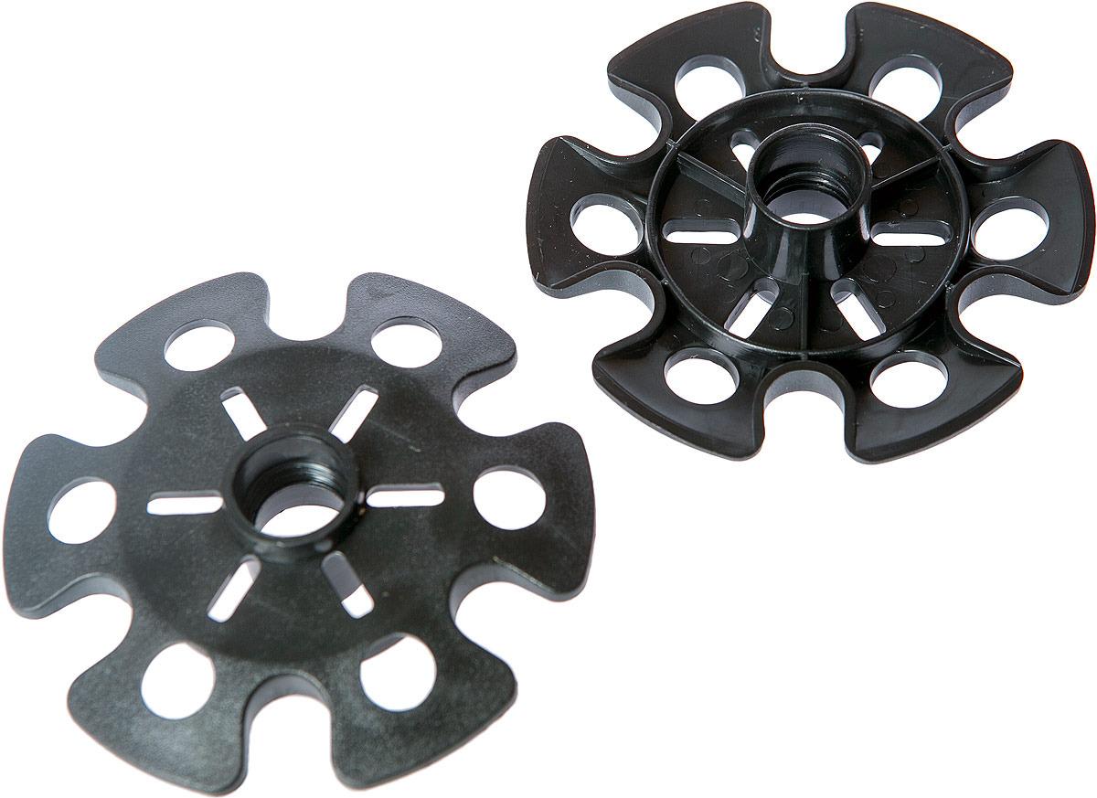 Кольца для трекинговых палок Tramp, TRA-060, черный, диаметр 10 см, 2 шт цены онлайн