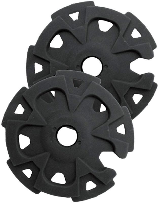 Кольца для трекинговых палок Tramp, TRA-061, черный, диаметр 5 см, 2 шт