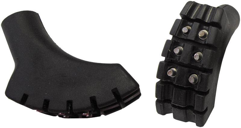 Наконечники для палок Tramp, TRA-203, шипованные, черный, 2 шт цены онлайн
