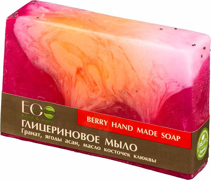 Мыло туалетное EO laboratorie Berry глицериновое, 130 г мыло ручной работы le blanc красные ягоды в жестяной коробочке 100 г франция