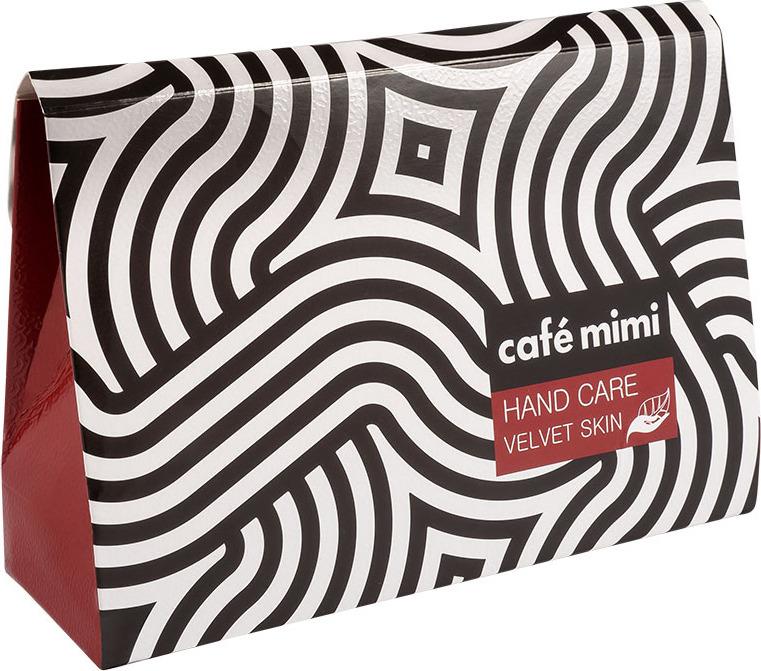 цена Набор косметики для ухода за кожей Cafe Mimi Velvet Skin Hand Care, онлайн в 2017 году