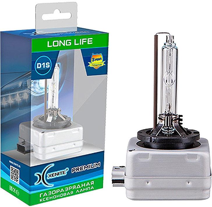 Автолампа Xenite D1S Premium Long Life, ксеноновая, 35 Вт, 4300 К, PK32d-2, 10020301002030Тип лампы: D1S Цоколь: PK32d-2 Напряжение: 85 В Потребляемая мощность: 35 Вт Цветовая температура: 4300 K Яркость: до 3300 LM Срок службы: до 4000 ч. Гарантия: 3 года Производитель: Световые технологии Ксенайт, Китай