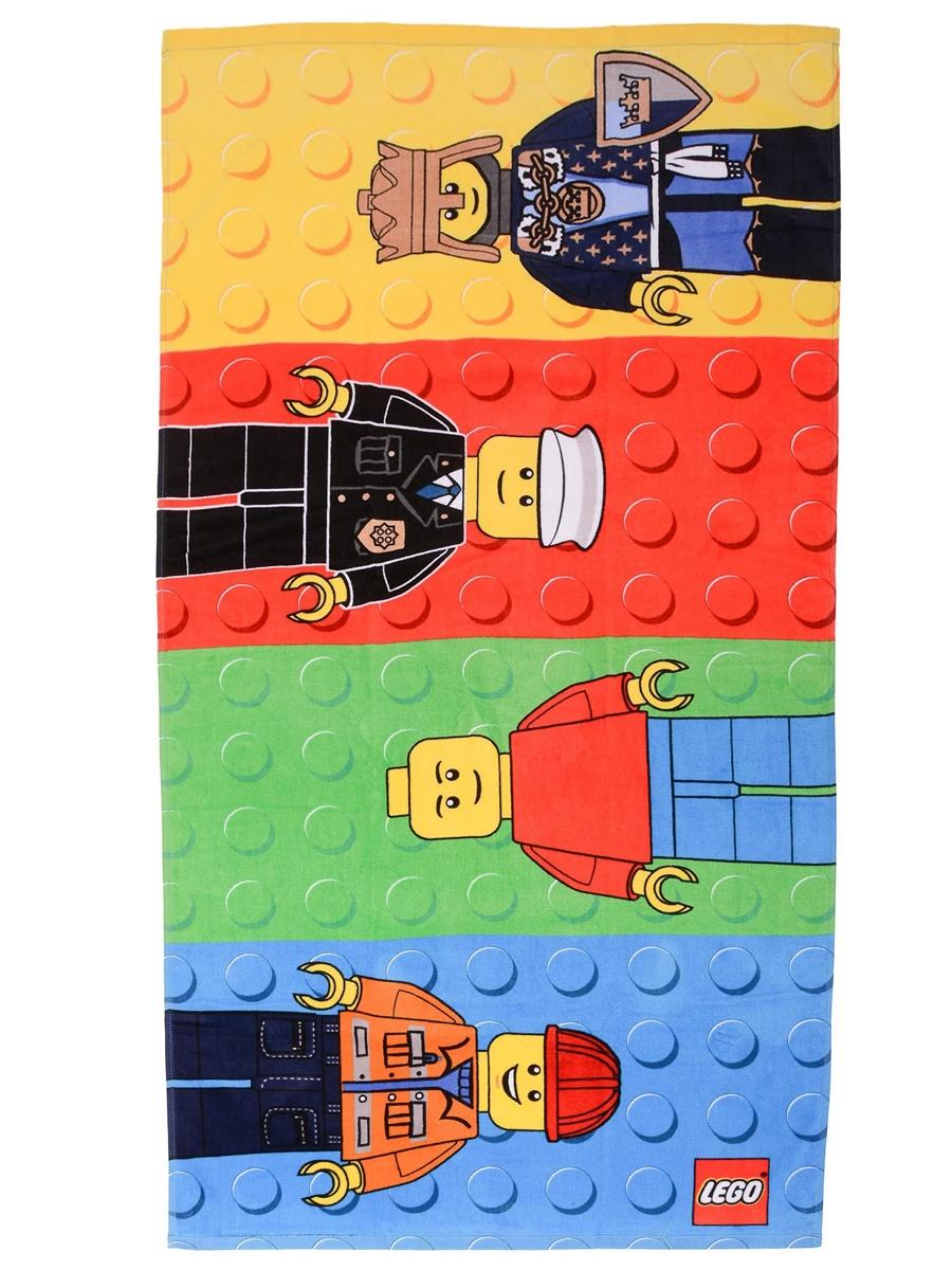 Полотенце детское Lego Classic Minifigures, Хлопок детское лего decool 701 706 z minifigures vegeta yamcha minifigures 701 706