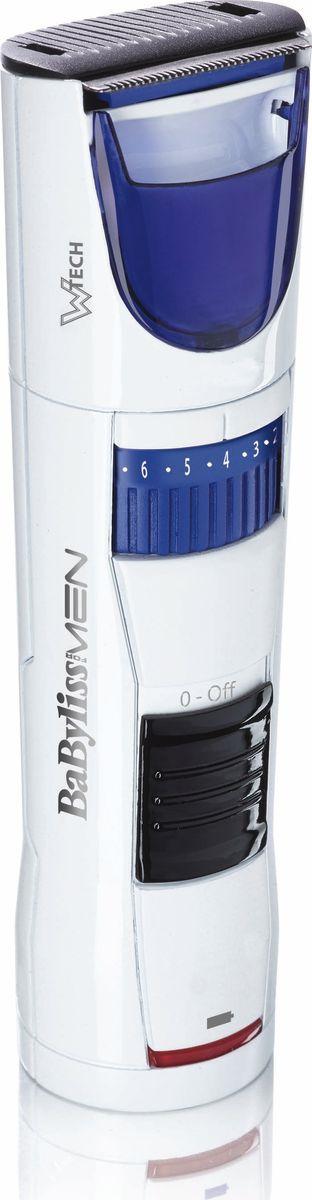 Триммер для бороды и усов BaByliss T810E, красныйT810EУникальная технология Wtech (полный захват волоса). Нержавеющая сталь. Плавающие лезвия CMS. Самосмазывающиеся лезвия. 60 минут автономной работы. Встроенное колесико - точность регулировки