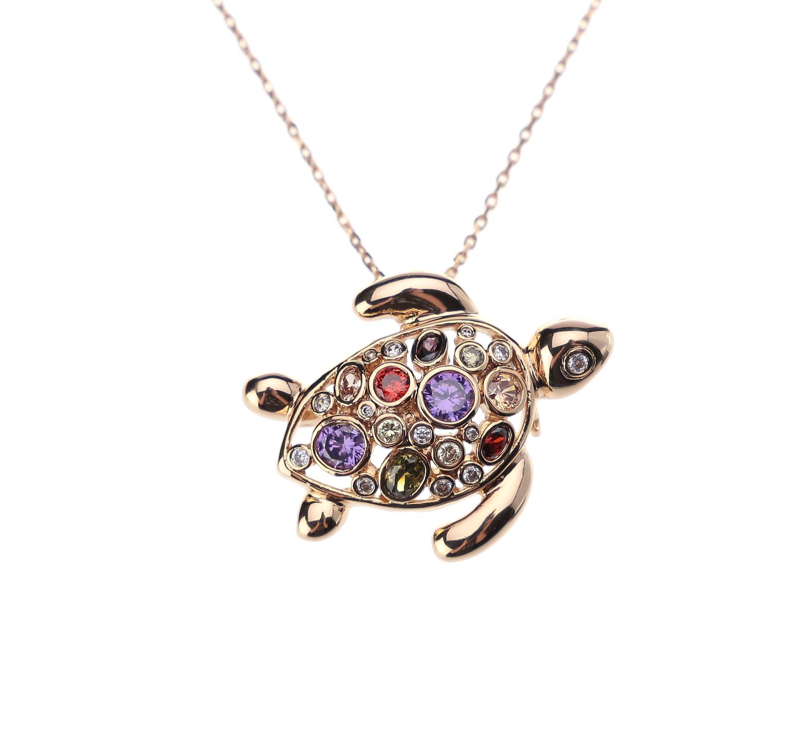Колье/ожерелье бижутерное Fiore Luna 15A13NK021AV02 BR, Гипоаллергенный сплав, Муранское стекло, 40 см, 15A13NK021AV02 BR, белый, желтый, красный, фиолетовый