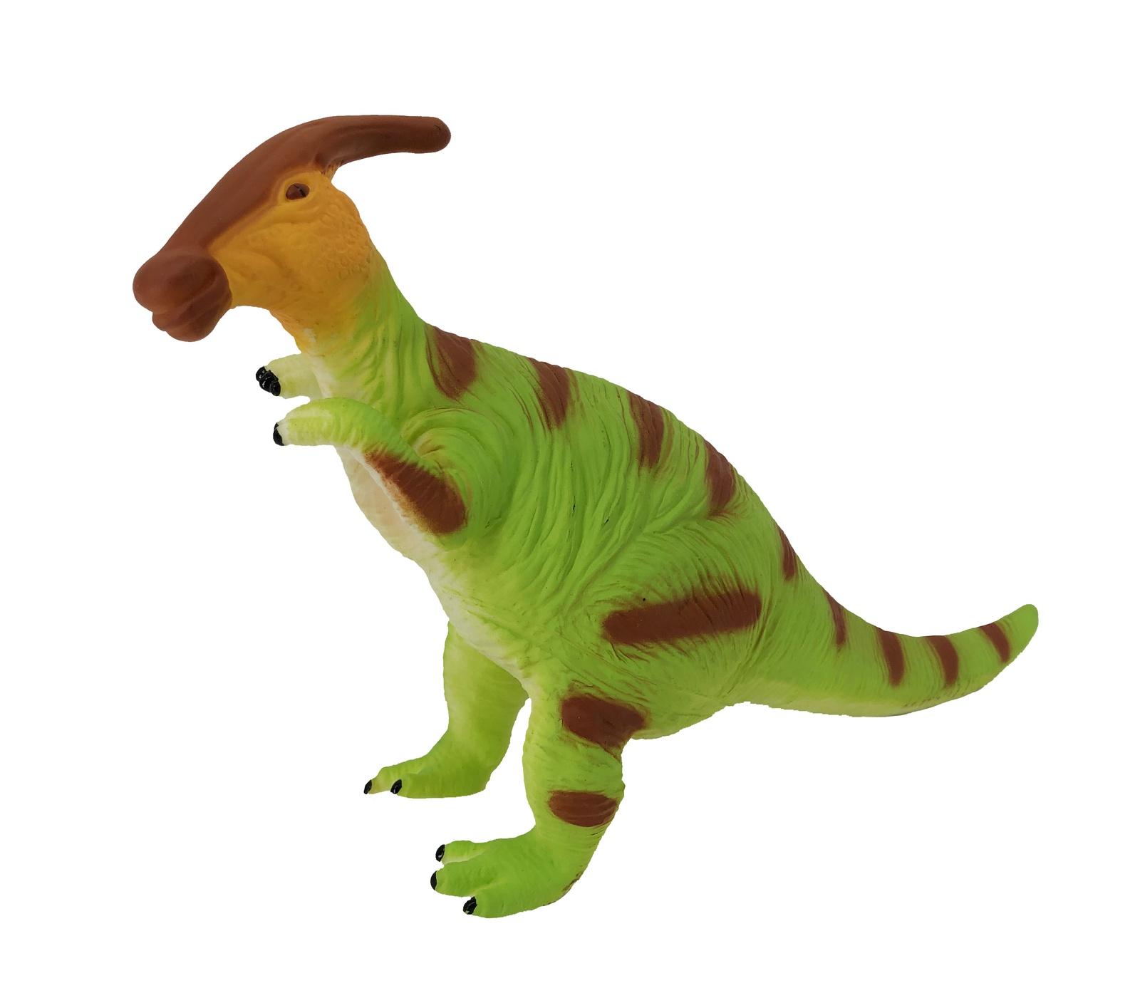 Фигурка АБВГДЕЙКА Динозавр Паразауролоф зеленый