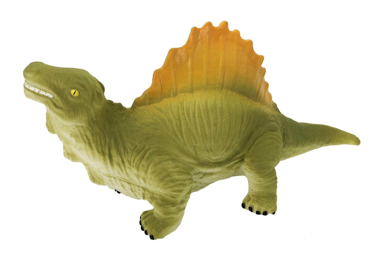 Фигурка АБВГДЕЙКА Динозавр Спинозавр зеленый, желтый