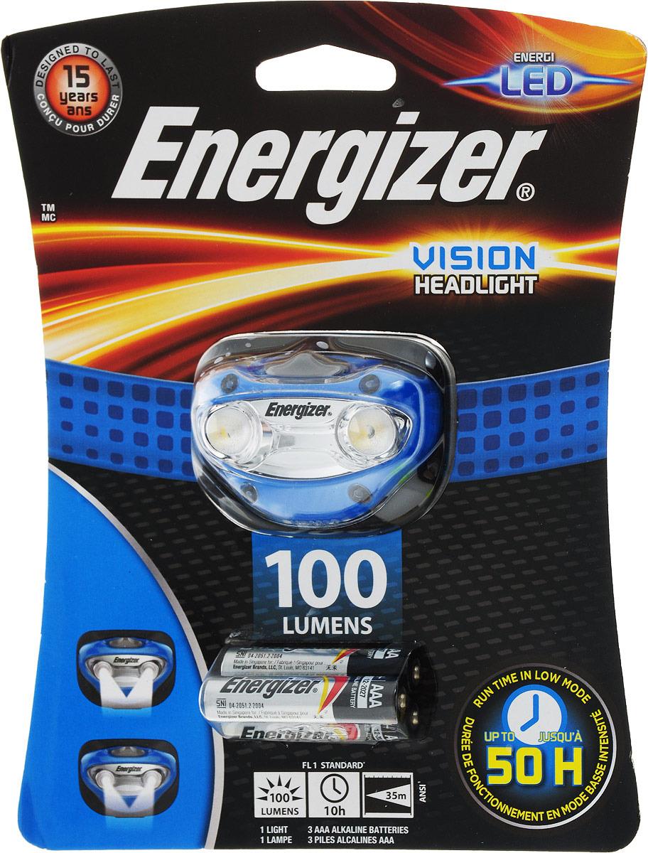 Фонарь Energizer Headlight Vision, светодиодный. E300280300