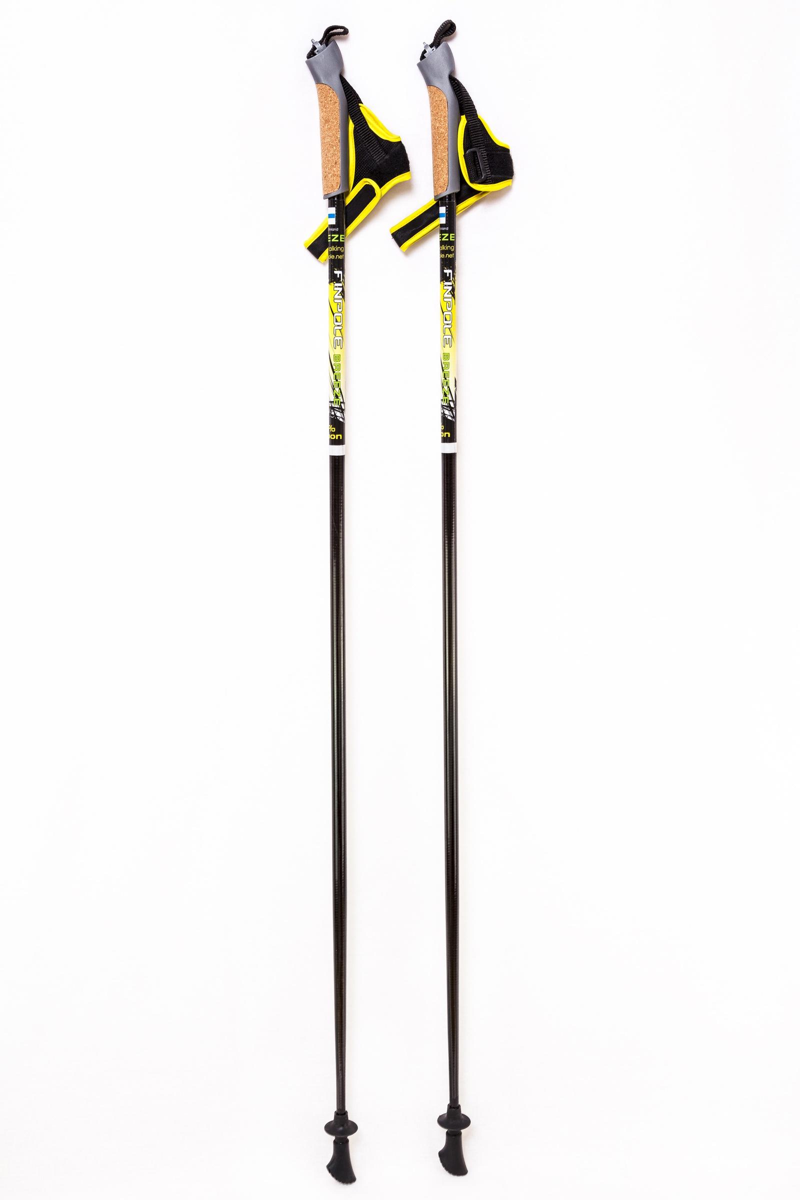 Палки для скандинавской ходьбы Finpole Breeze 60% carbon палки для скандинавской ходьбы komperdell carbon forza длина 120 см 2 шт