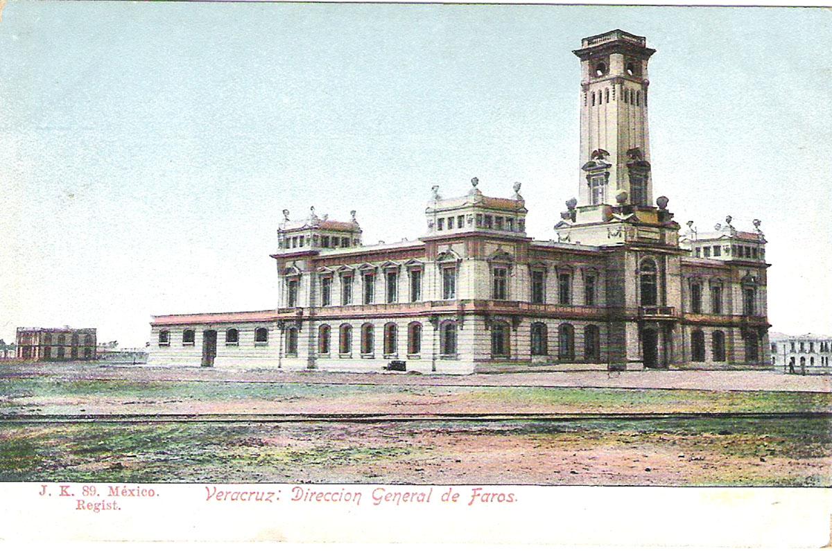 Почтовая открытка Verazcruz: Direccion General de Faros. #89. Мексика, начало ХХ века почтовая открытка palacio nacional 15 мексика начало хх века