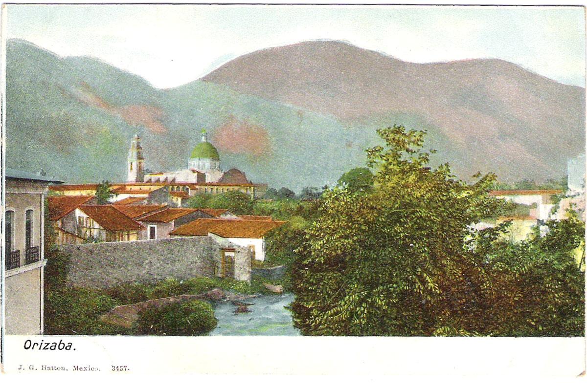 Почтовая открытка Orizaba. Мексика, начало ХХ века почтовая открытка palacio nacional 15 мексика начало хх века