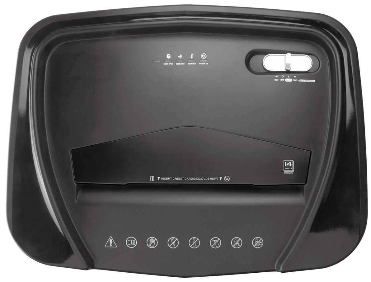 Шредер Office Kit S142, черный
