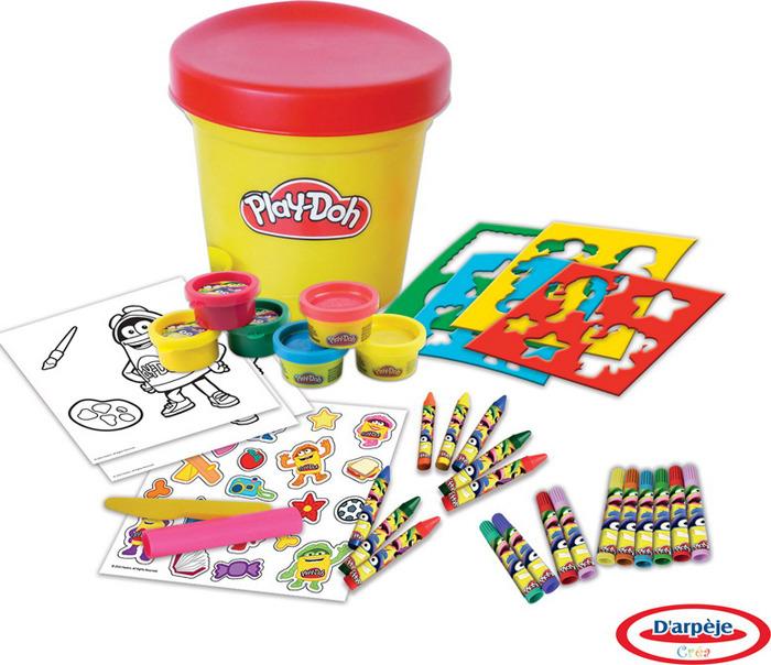 """Набор для рисования Play-Doh """"Необычное ведерко"""", CPDO051"""
