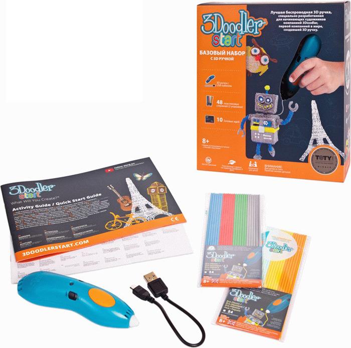3D Ручка 3Doodler Start, 3DS-ESST-TNG-R-17 3d ручка 3doodler start базовый набор e comm
