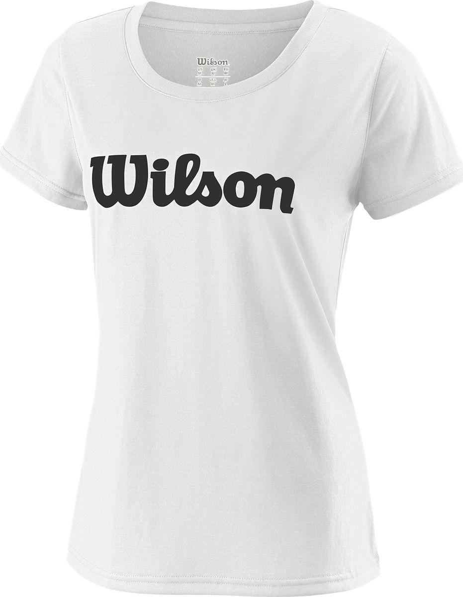 Футболка Wilson Uwii Script Tech футболка wilson wilson wi002ewaoop3