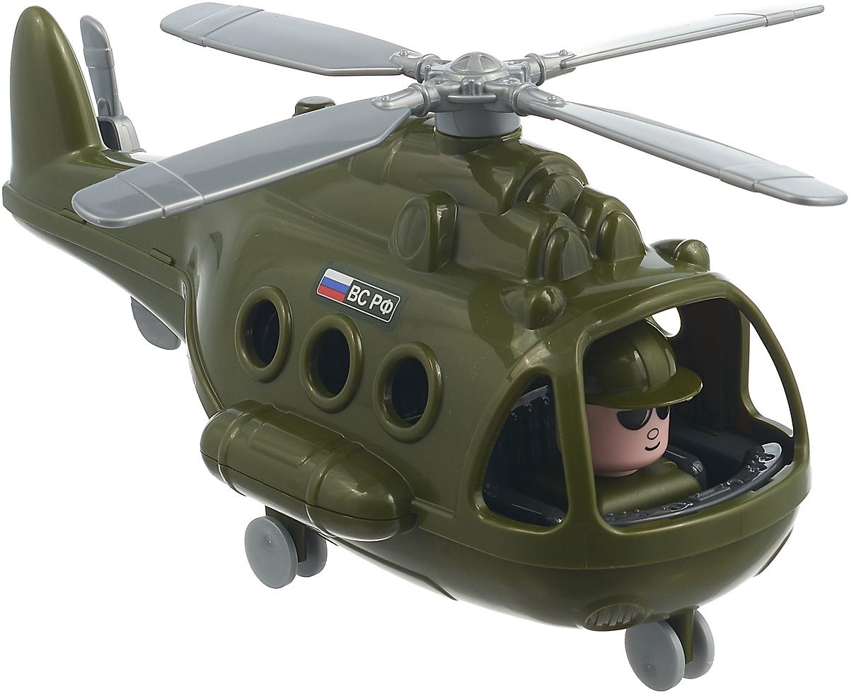 Вертолет военный Полесье Альфа. 72436, цвет в ассортименте игрушка полесье альфа 68729