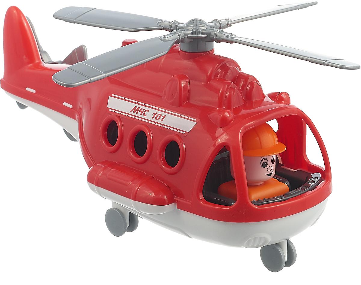 Вертолет пожарный Полесье Альфа. 72382, цвет в ассортименте игрушка полесье альфа 68729