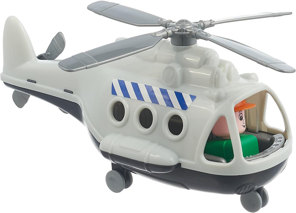 Вертолет грузовой Полесье Альфа. 72498, цвет в ассортименте игрушка полесье альфа 68729