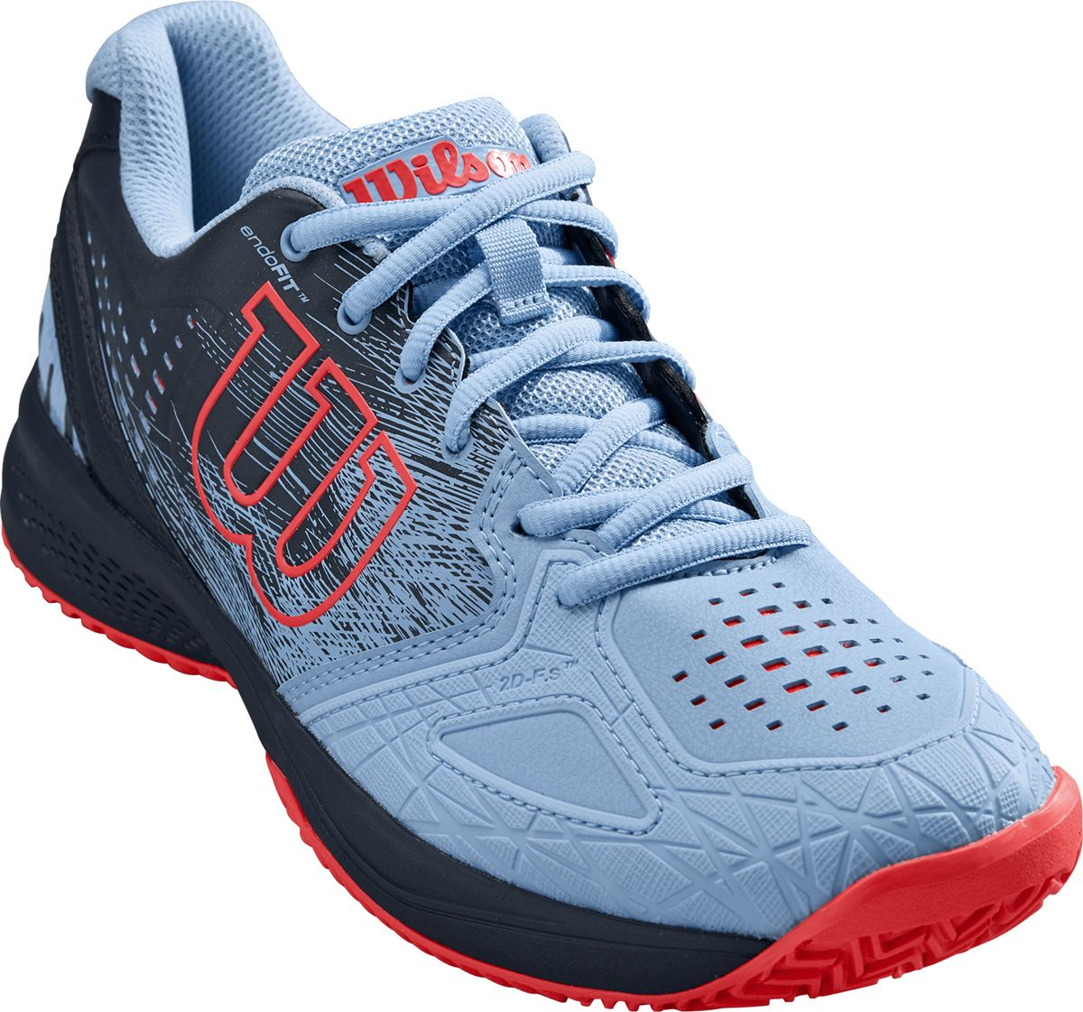 Кроссовки Wilson Kaos Comp кроссовки для тенниса мужские wilson rush comp ebony цвет белый wrs324580 размер 9 42
