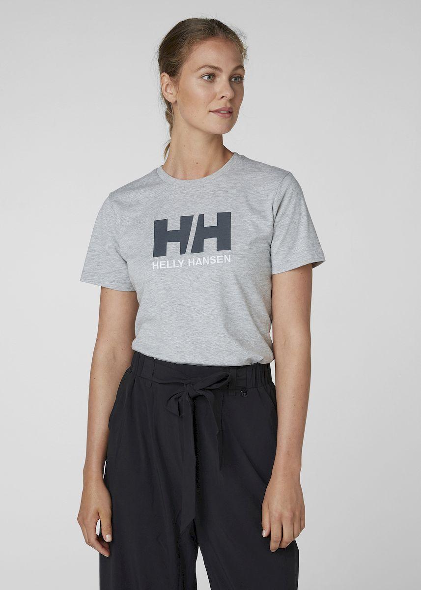 Футболка Helly Hansen W Hh Logo T-Shirt футболка женская helly hansen w skog graphic t shirt цвет розовый 62877 104 размер xl 48