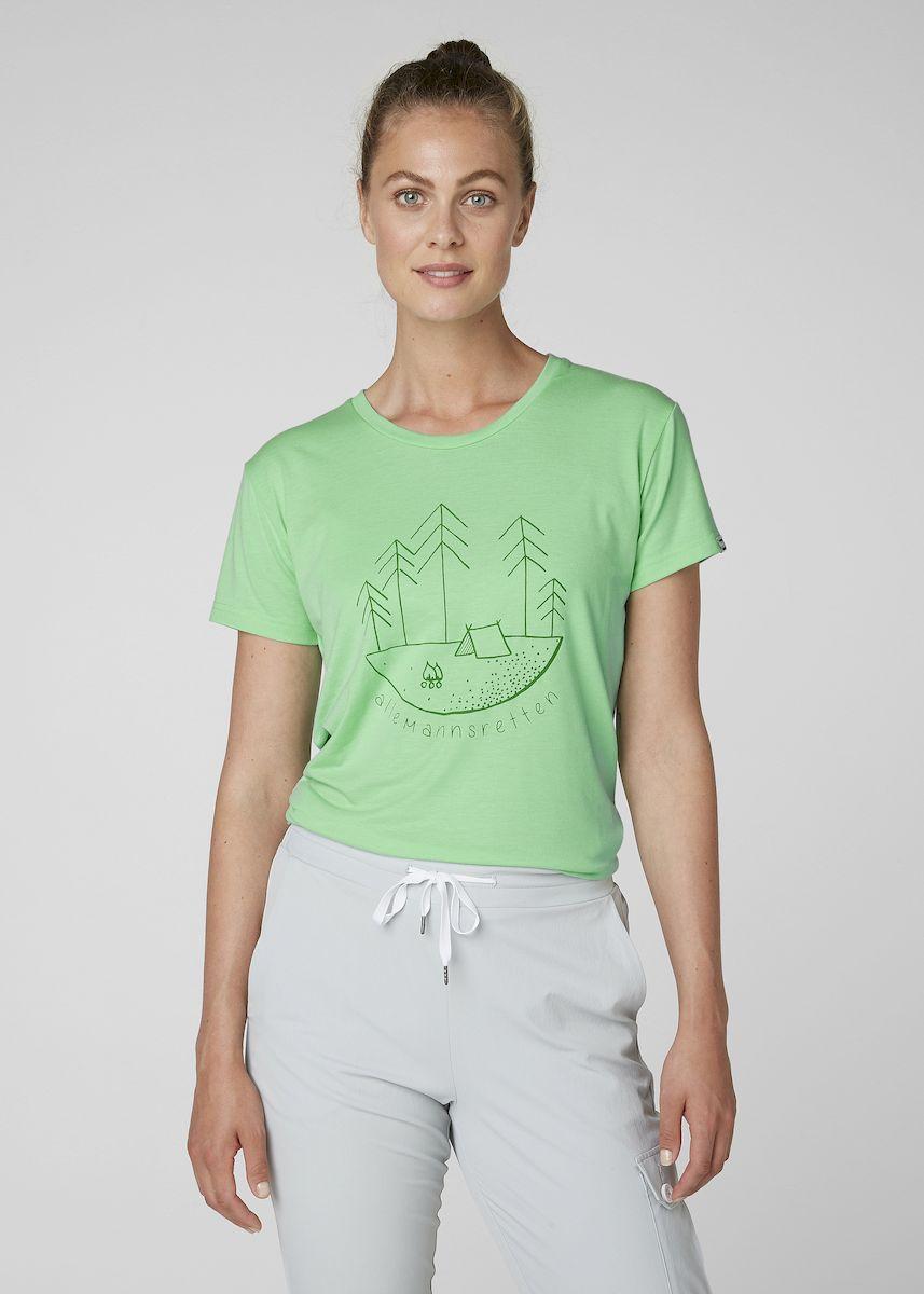 Футболка Helly Hansen W Skog Graphic T-Shirt футболка женская helly hansen w skog graphic t shirt цвет розовый 62877 104 размер xl 48