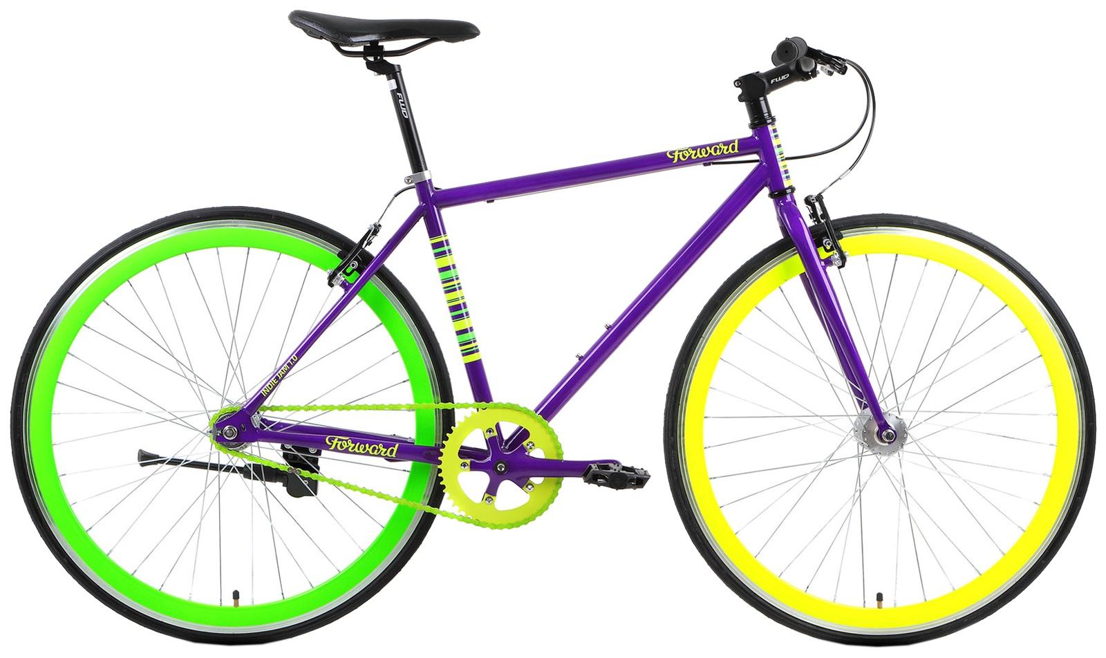 Велосипед Forward INDIE JAM 1.0, фиолетовый