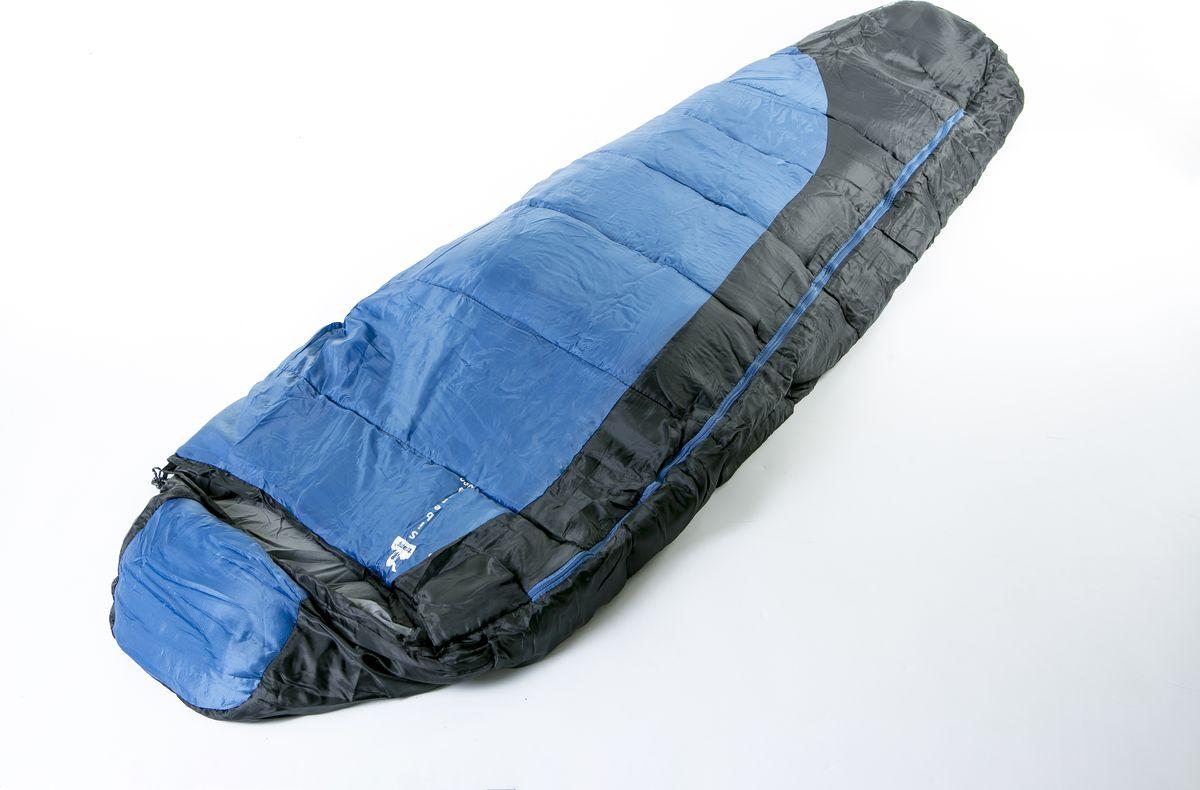 Спальный мешок Tramp Siberia 3000 (V2), левая молния, TRS-039, синий, черный, 220 х 80 см леска siweida swd samurai 0 20mm 100m 4 51kg transparent 5234206
