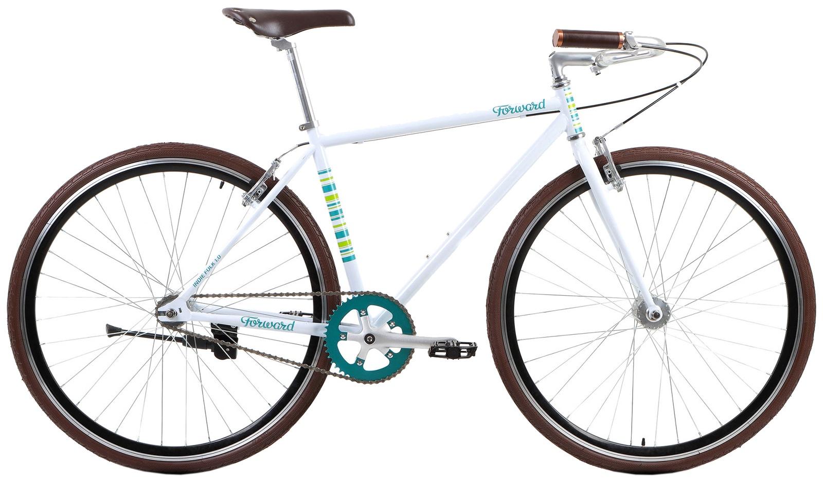 Велосипед Forward INDIE FOLK 1.0, RBKW7YN81001, белый