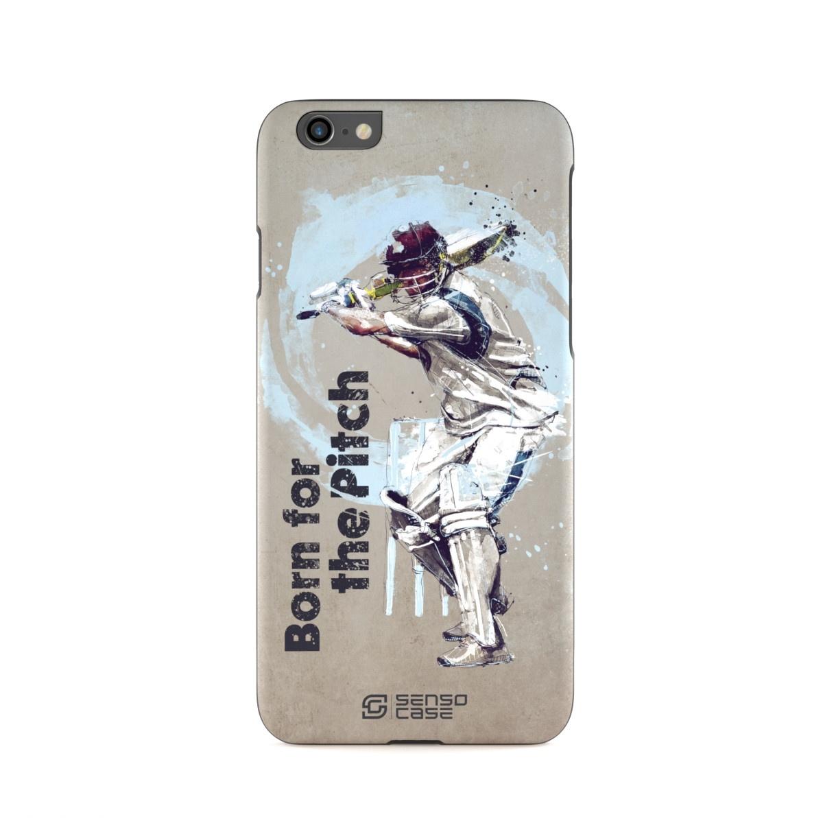 """Чехол для сотового телефона SensoCase iPhone 6/6s """"Крикет"""" , SC-IP6-cricket + защитное стекло в подарок, 100099"""