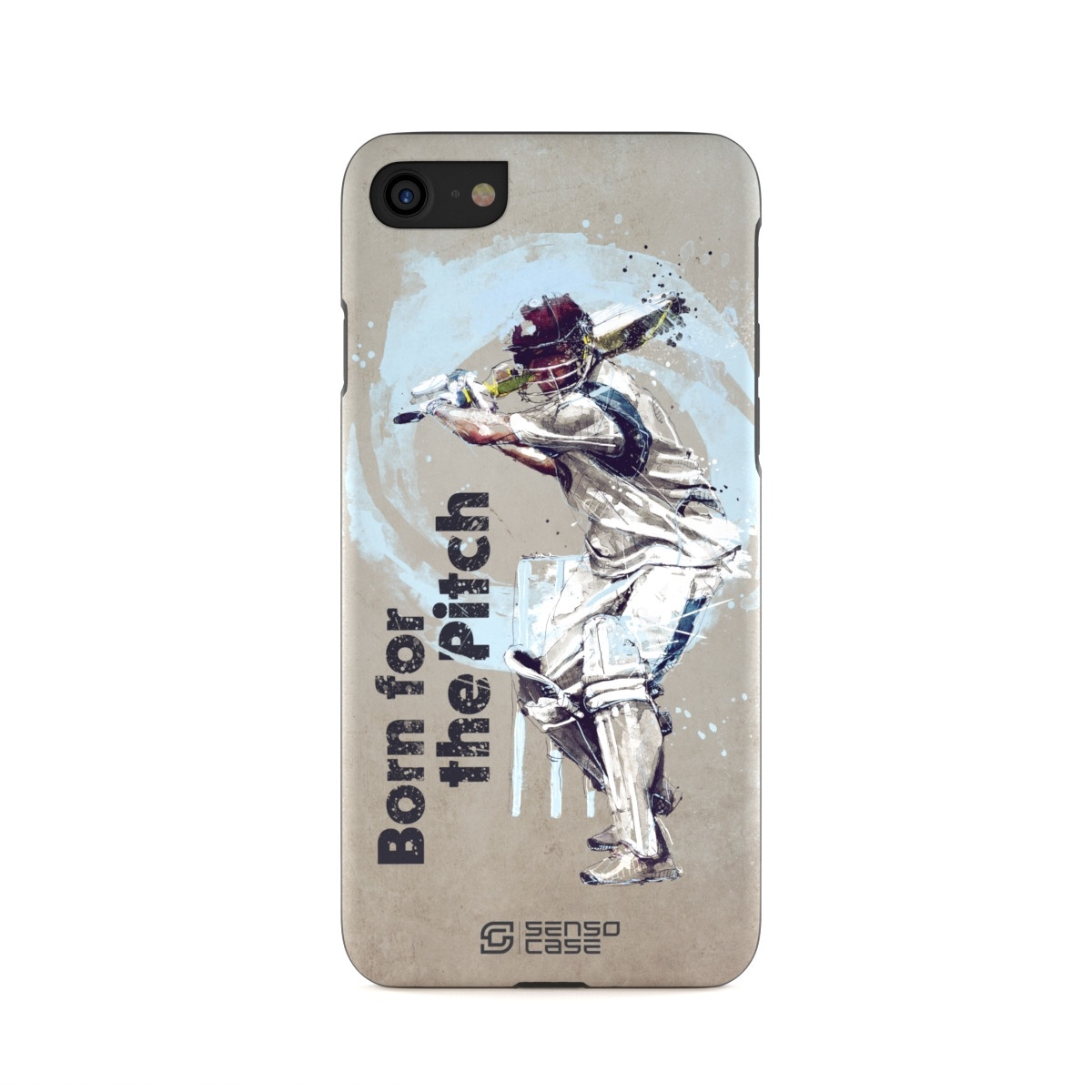 """Чехол для сотового телефона SensoCase iPhone 6/6s """"Крикет"""" , SC-IP7-cricket + защитное стекло в подарок, 100101"""