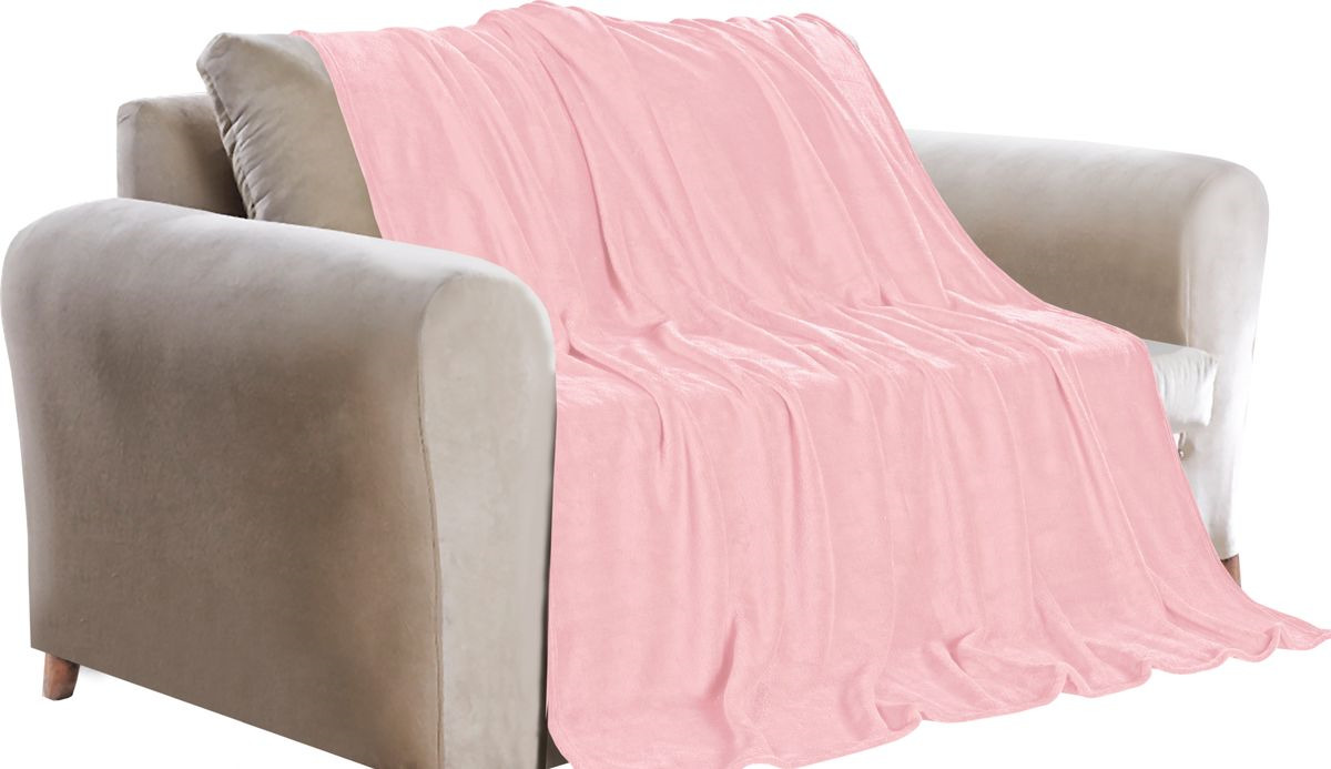 Покрывало Guten Morgen, ПФРЗ-200-220, светло-розовый, 200 х 220 см