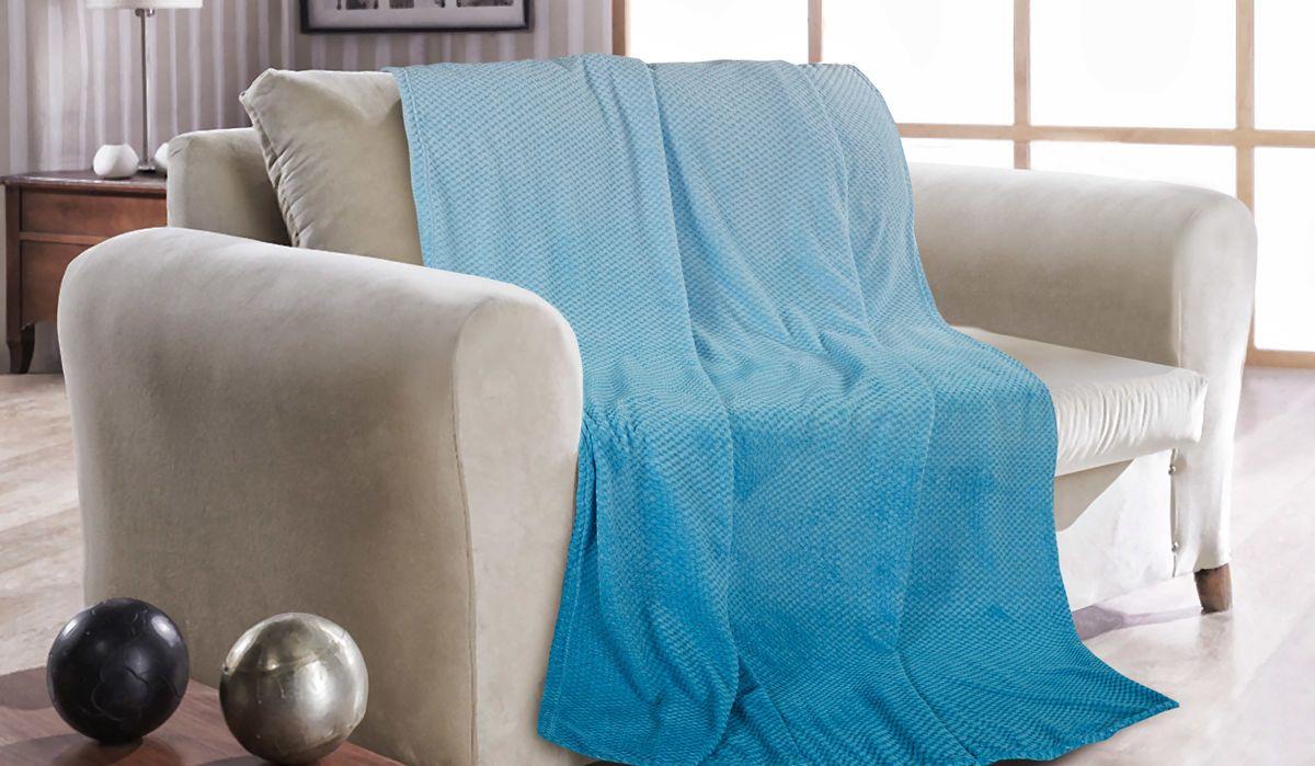 Покрывало Guten Morgen Голубая лагуна, ПК-Ж-ГЛ-180-200, голубой, 180 х 200 смПК-Ж-ГЛ-180-200Красивый плед может не только согреть вас прохладным вечером, но и стать неотъемлемой частью вашего интерьера, дополнить его необычным акцентом, либо придать новизну всему интерьеру. Этот плед поднимет настроение и оживит интерьер. Милый дизайн понравиться не только детям, но и взрослым.