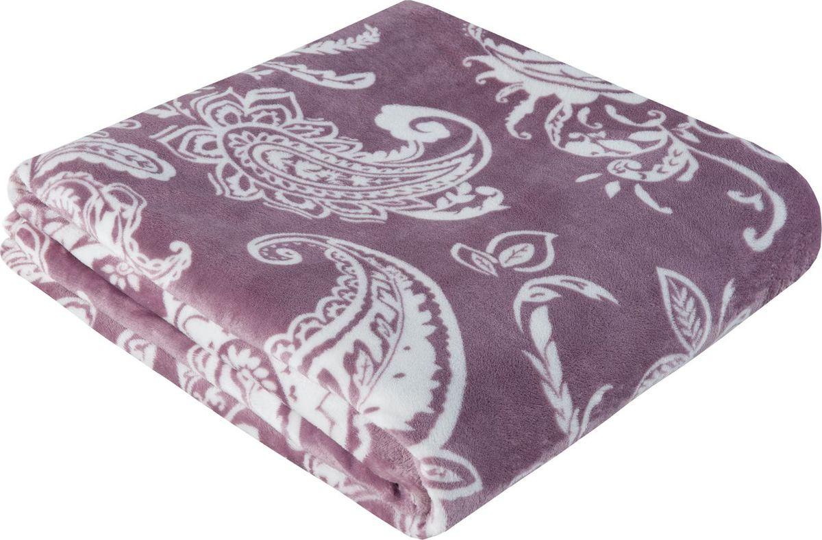 Покрывало Guten Morgen Варанаси, РКфл-SP51-180-200, фиолетовый, 180 х 200 см