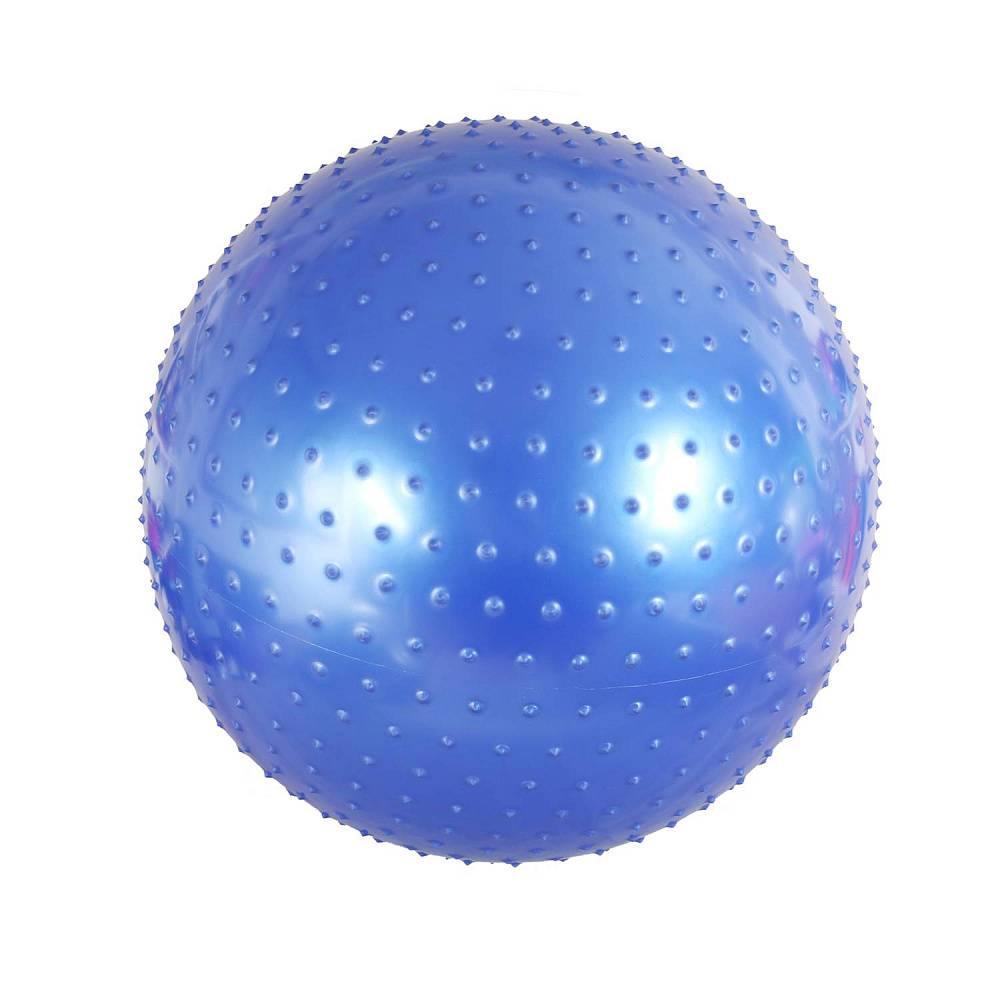 Мяч для фитнеса BodyForm массажный BFMB01 синий