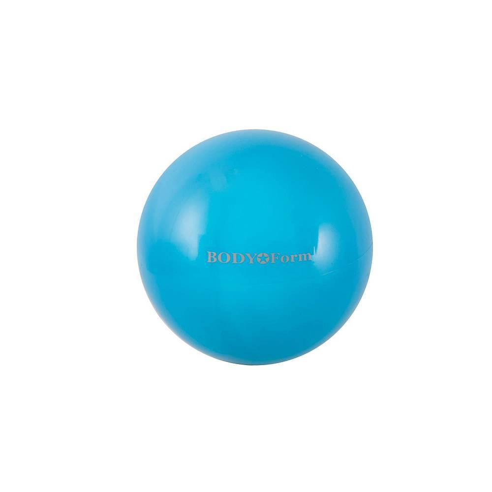 Мяч для фитнеса BodyForm BF-GB01M, BF-GB01M-04, бирюзовый мяч для фитнеса bodyform мяч гимнастический bf gb01m 10 25 см мини bf gb01m 03 фиолетовый