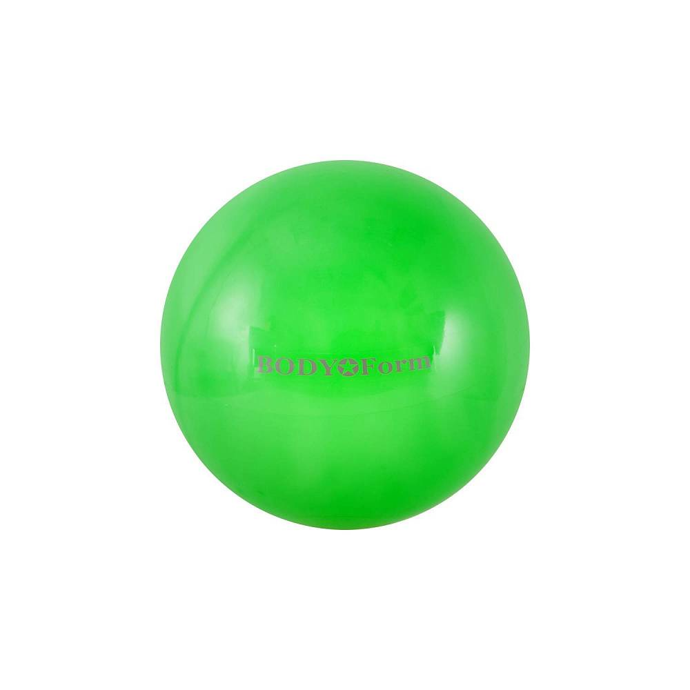 Мяч для фитнеса BodyForm BF-GB01M, BF-GB01M-06, зеленый мяч для фитнеса bodyform мяч гимнастический bf gb01m 10 25 см мини bf gb01m 03 фиолетовый