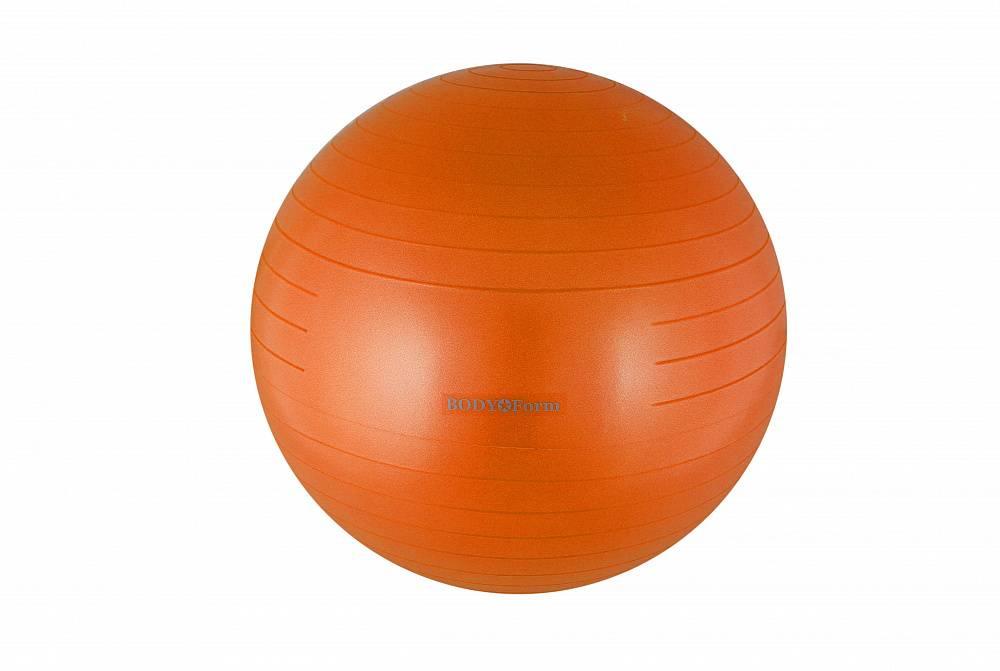 Мяч для фитнеса BodyForm BFGB01AB BFGB01AB06 оранжевый