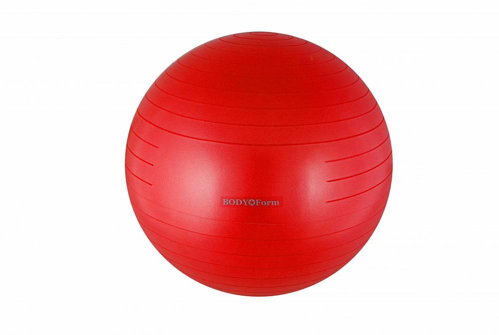 Мяч для фитнеса BodyForm BFGB01AB BFGB01AB07 красный