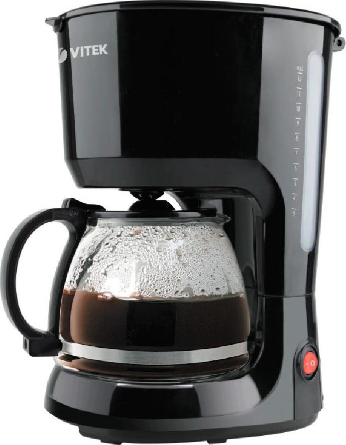 Кофеварка капельная Vitek VT-1528(BK) цена и фото