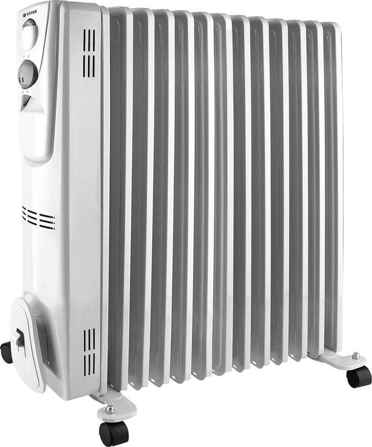 Vitek VT-2129(W) радиатор масляный радиатор vitek vt 1707 w 1000 вт термостат ручка для переноски колеса для перемещения белый