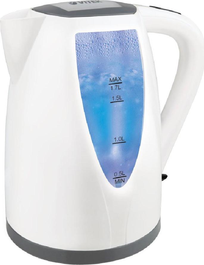 Электрический чайник Vitek VT-7014, White электрический чайник vitek vt 1122 tr