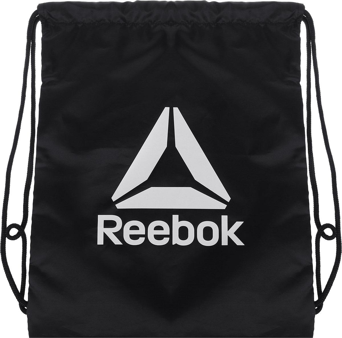 Рюкзак Reebok Act Fon Gymsack, цвет: черный. DU2974 рюкзак мешок nike fb gymsack 3 0 ba5094 435