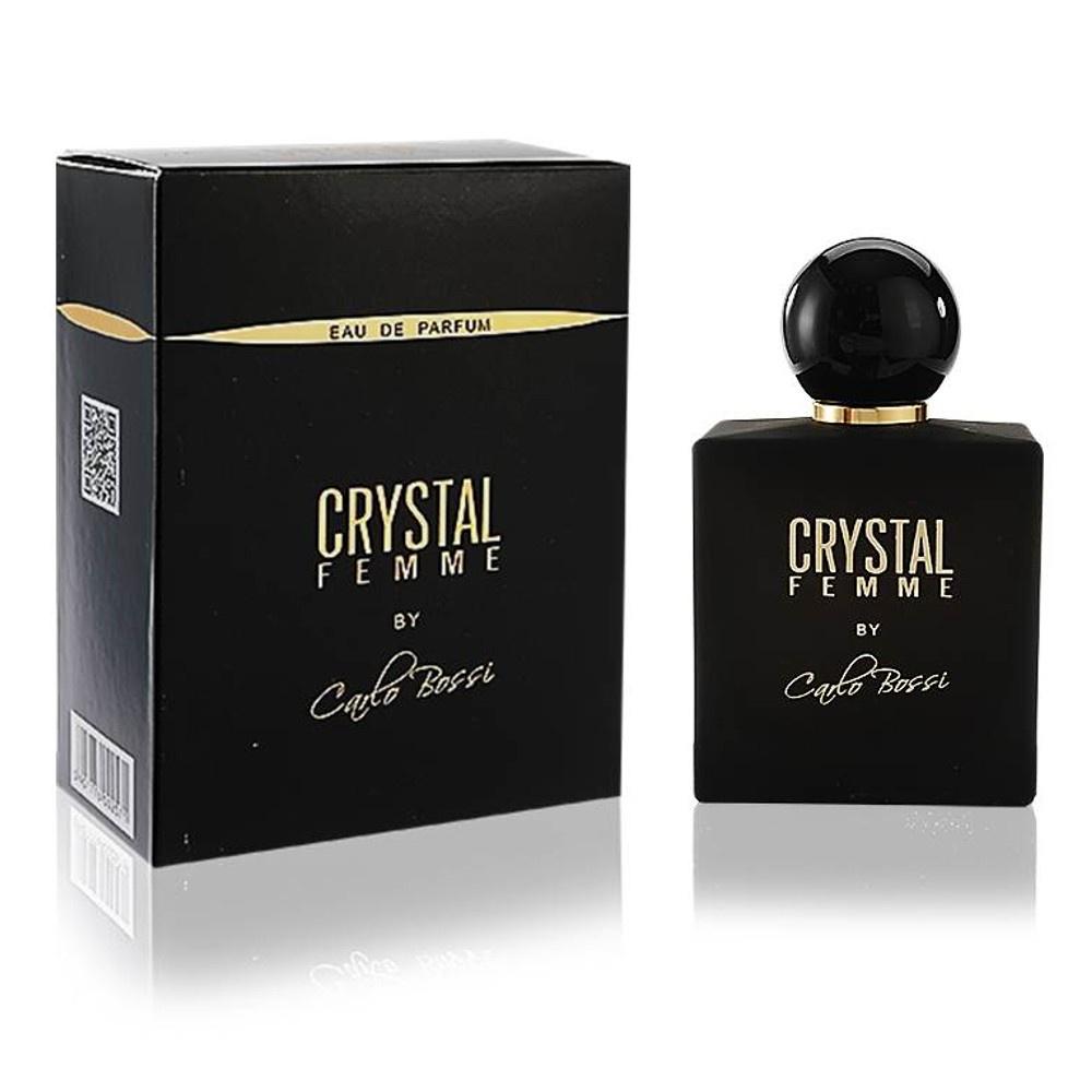 CARLO BOSSI CRYSTAL FEMME 100 мл carlo bossi crystal femme 100 мл