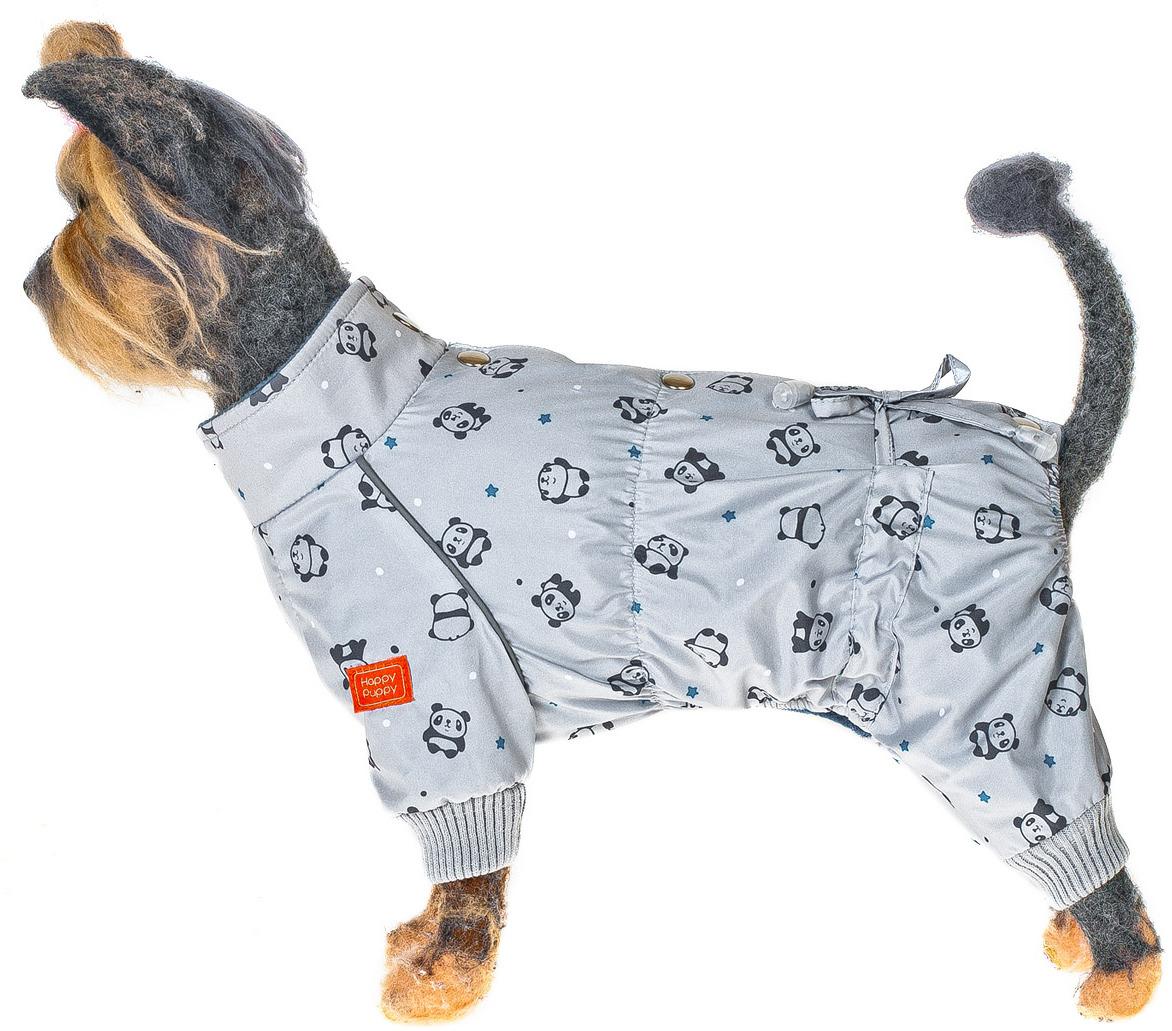 Комбинезон для собак Happy Puppy Пандасерый-4