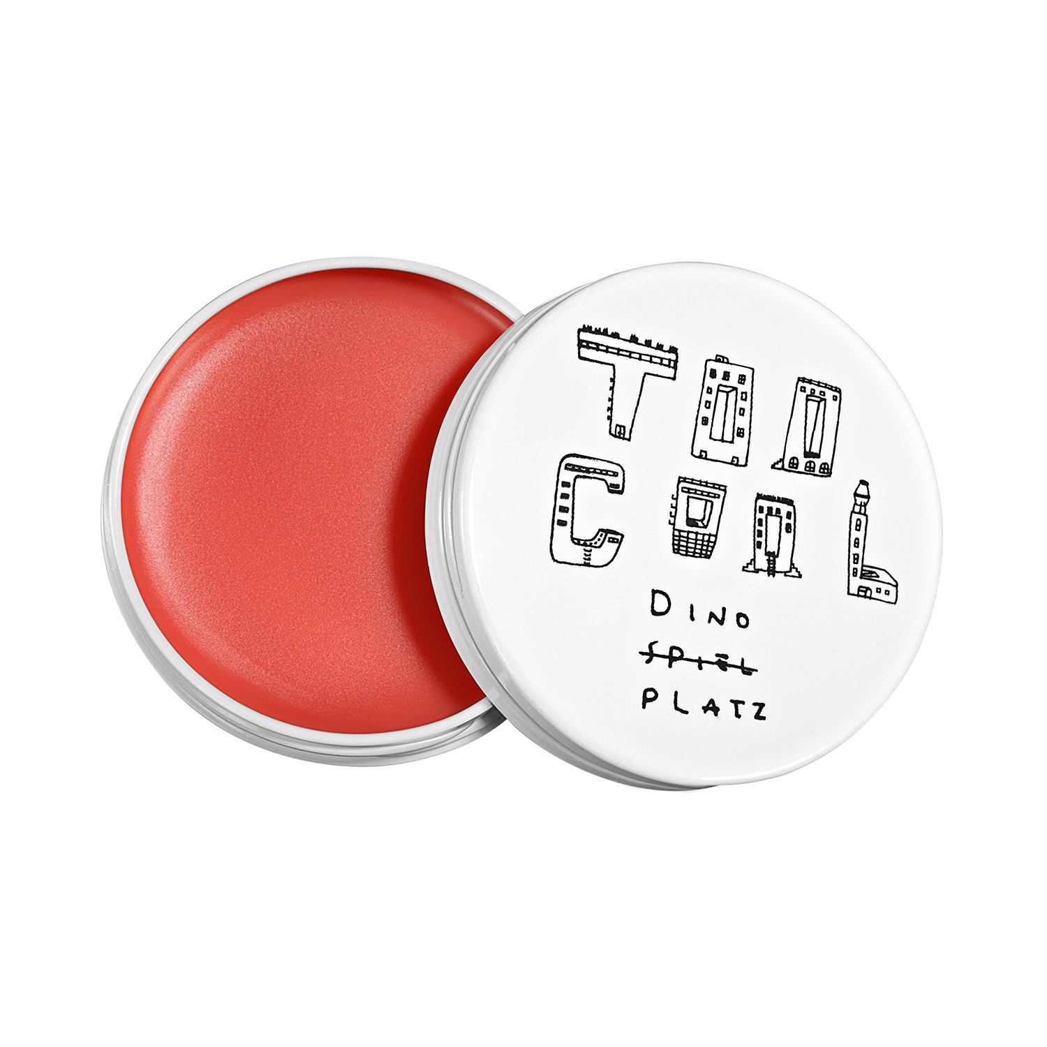 Бальзам для губ Too Cool For School Dinoplatz Lip Balm цена